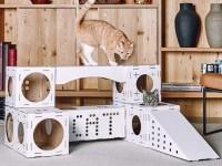 Делаем домик для кошки своими руками: простые решения и подбор материалов + 59 фото идей