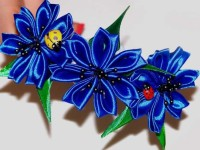 Плетем цветы из лент своими руками: 97 фото и видео создания оригинальных поделок
