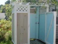 Как построить летний душ на даче своими руками: чертежи, советы, этапы постройки (92 фото + видео)