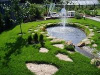 Фонтан в саду своими руками: инструкция по созданию мини-фонтанов и водопадов (68 фото + видео)