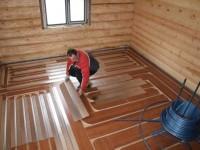Полы в доме своими руками: основные конструкции, бетонирование, деревянные полы + 71 фото