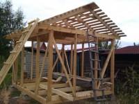 Сарай своими руками: от фундамента до крыши. 69 фото реализации проекта