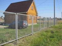 Забор из сетки рабицы своими руками: 78 фото устройства и изготовления