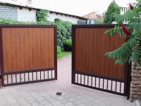 Раздвижные ворота своими руками (57 фото) — виды, особенности, инструкция по установке