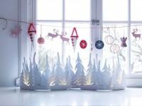 Украшения на окна к новому году — 150 фото новинок! Пошаговая инструкция и мастер-класс от профи!