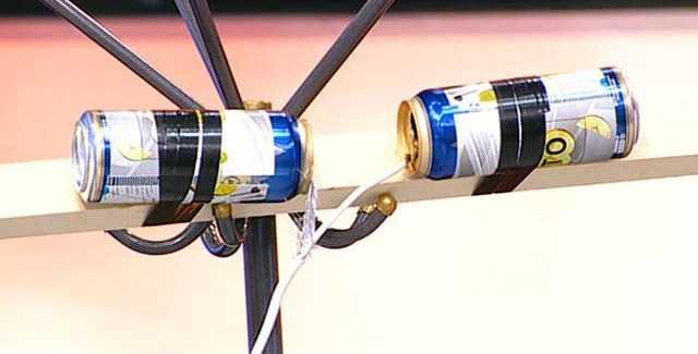 Цифровая антенна из банок