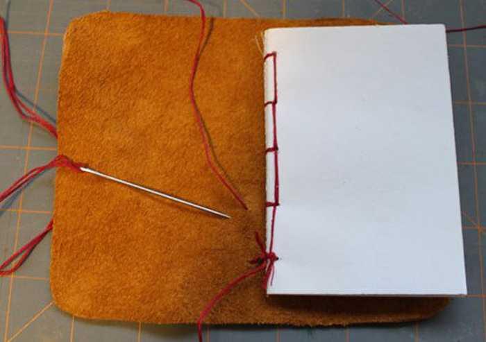 Блокнот сделанный своими руками пошаговой инструкции