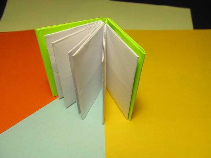 Как сделать книгу для детей из бумаги