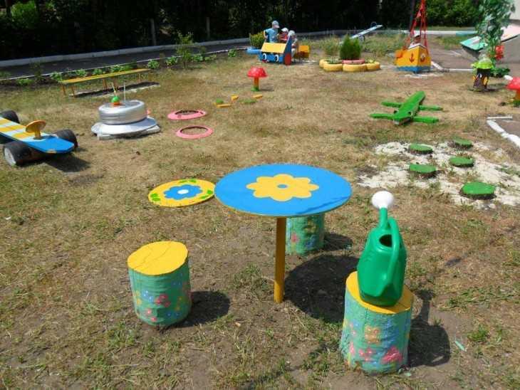 Детская площадка фото и идеи в доу