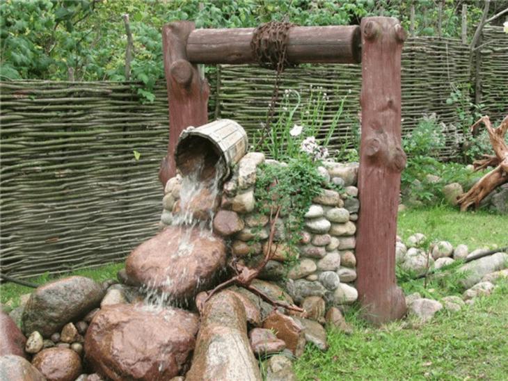 Сад в деревенском стиле своими руками 65