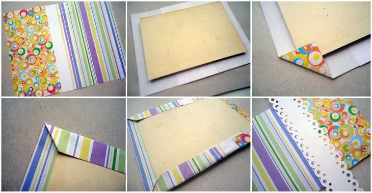 Как украсить фото в фотоальбоме своими руками