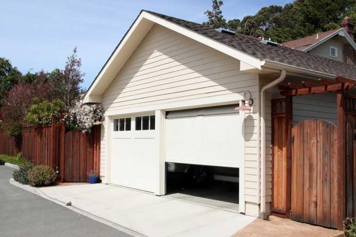 Проект гаража с мастерской из бруса