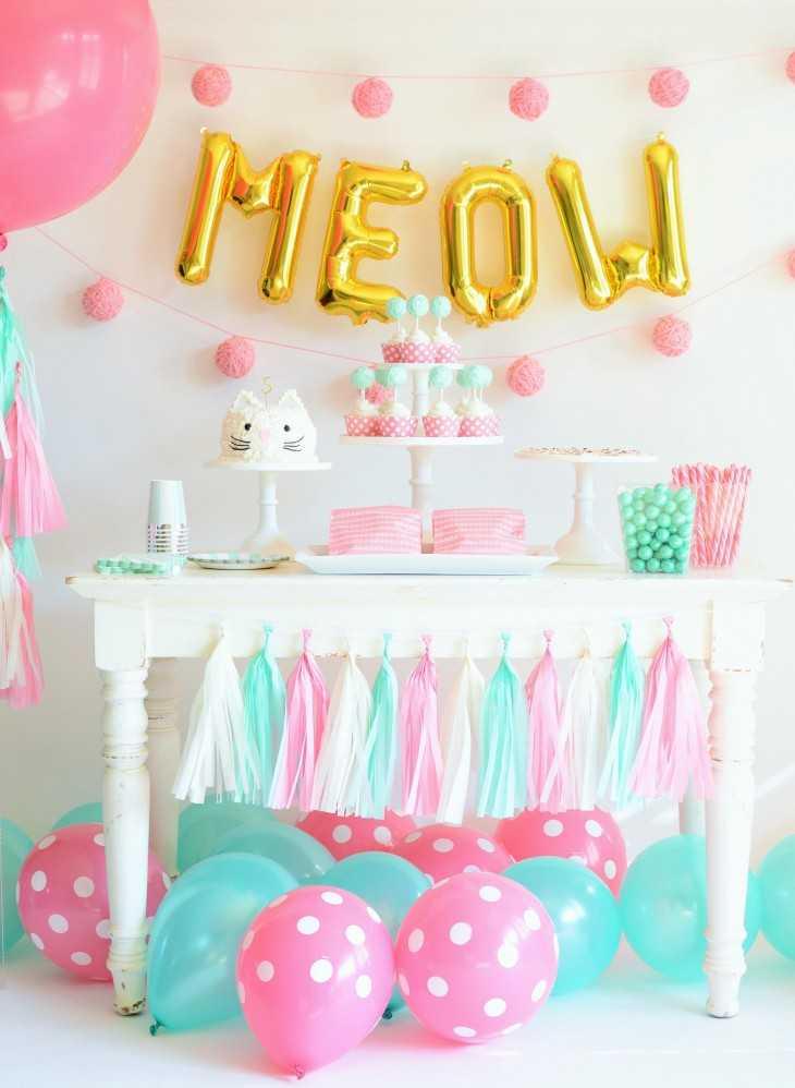 Как украсить комнату для дня рождения девочки  200