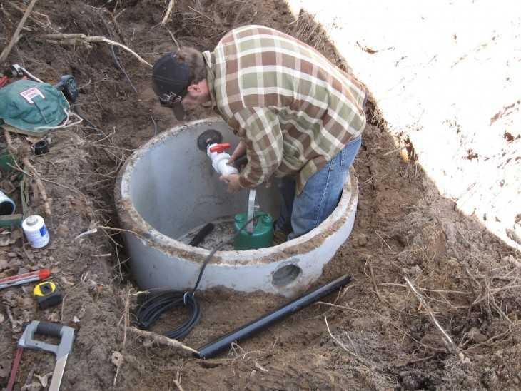Дешевая канализация в частном доме своими руками 52