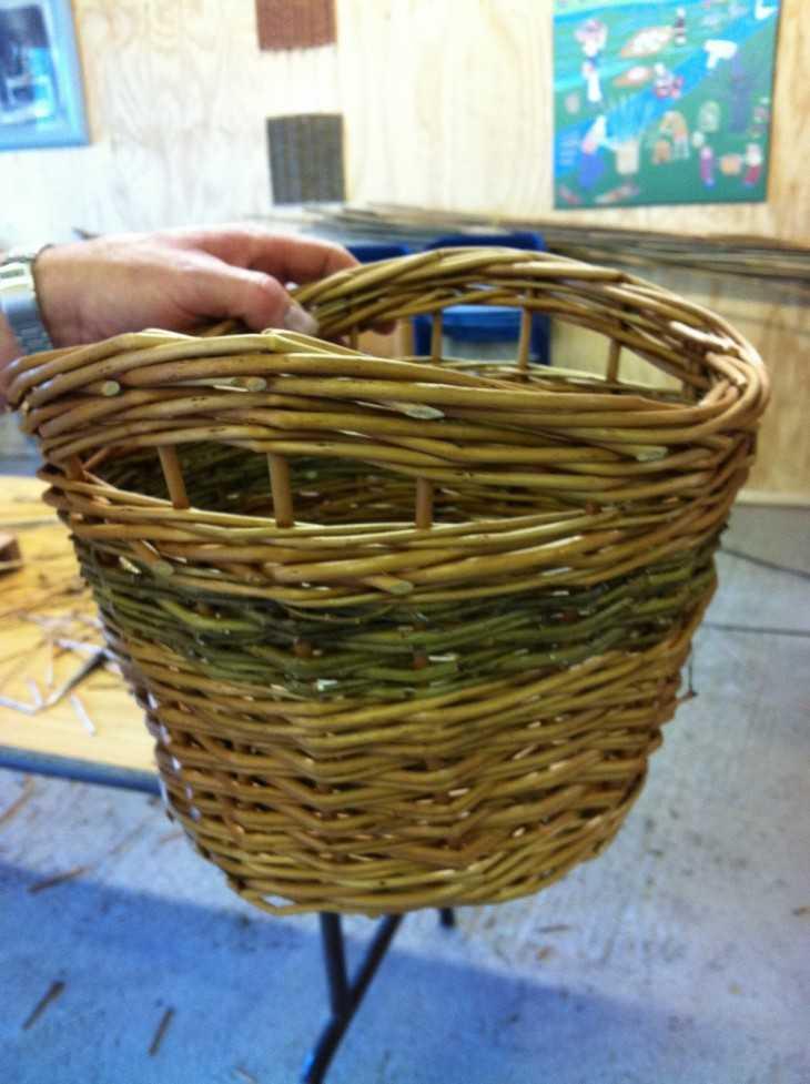 Как сделать плетеные корзины своими руками 126