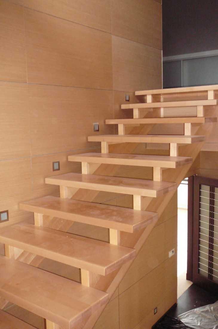 Изготовление лестницы из дерева на второй своими руками этаж цена 23