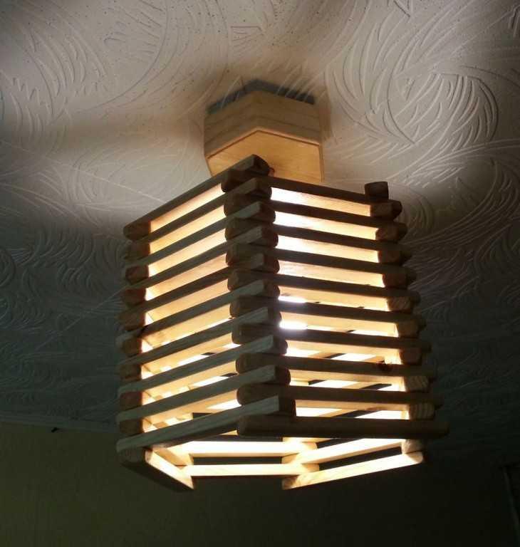 Светильники из фанеры своими руками фото 35