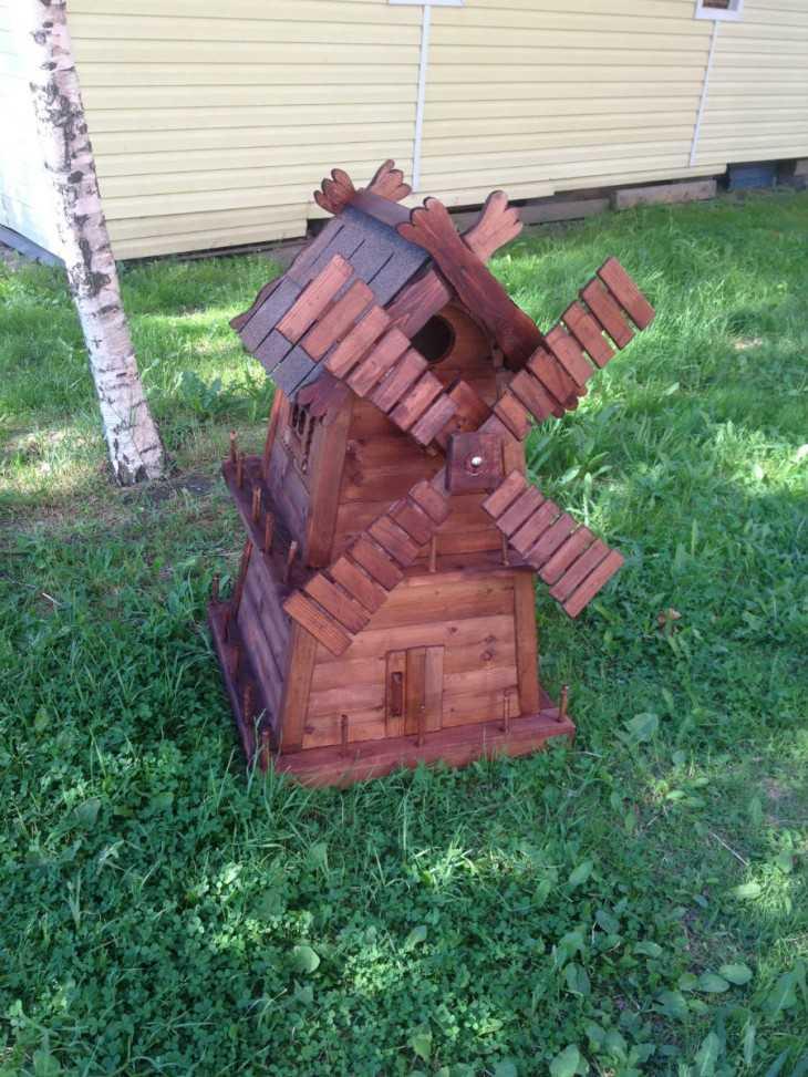 Декоративная мельница своими руками фото 72