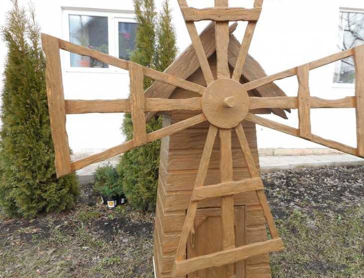 Ветряные поделки для сада 24