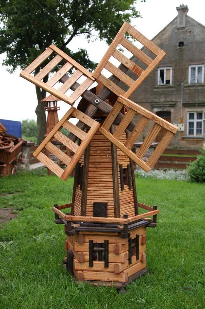 Садовая мельница своими руками схема