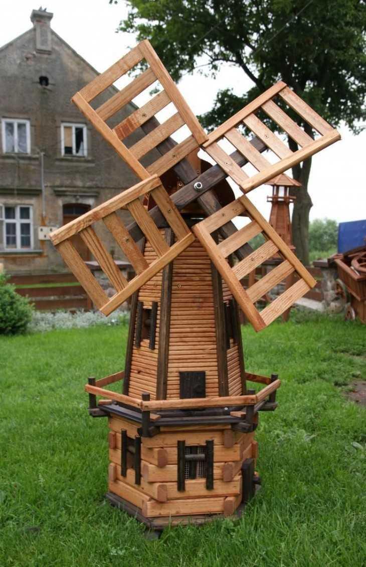 Схема мельницы для сада своими руками фото 550