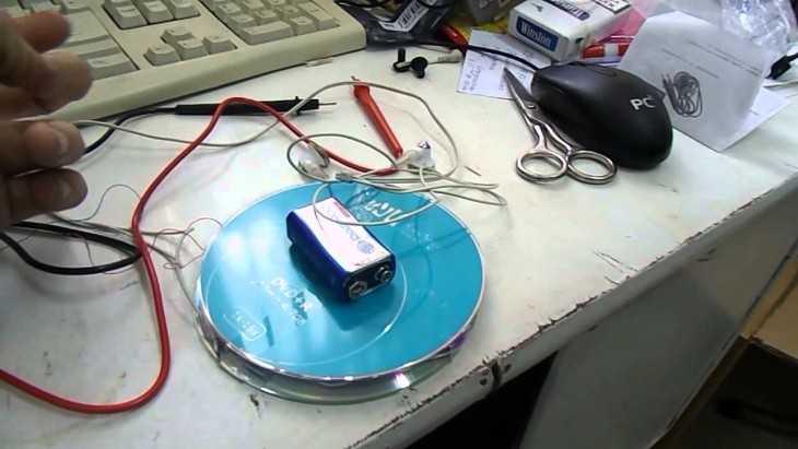 Из дисков металлоискателей своими руками
