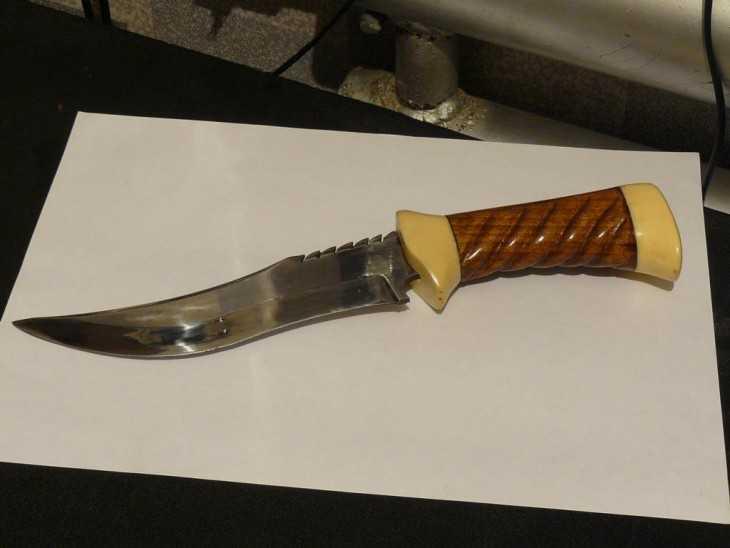 Как сделать нож для начинающих 986