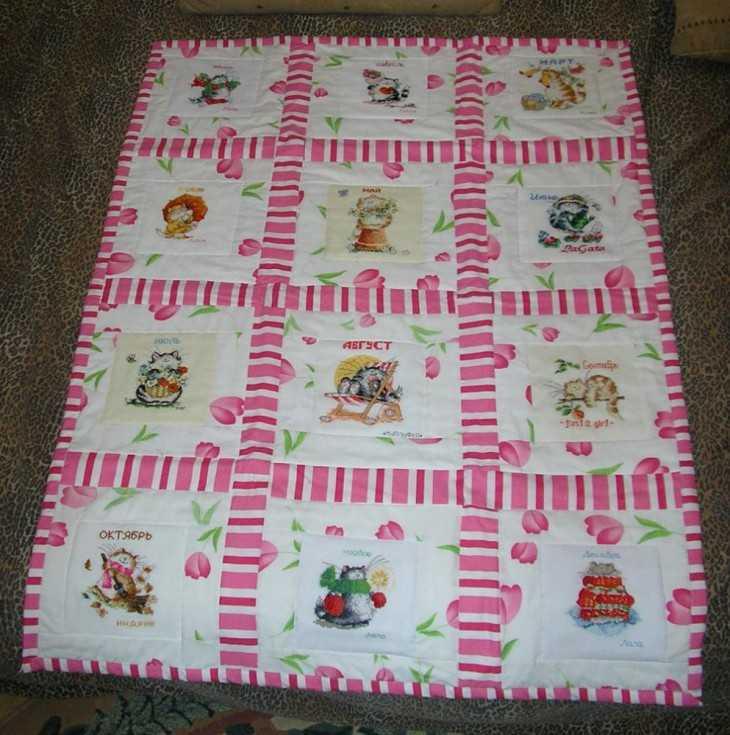 Какую ткань используют для подкладки одеяла