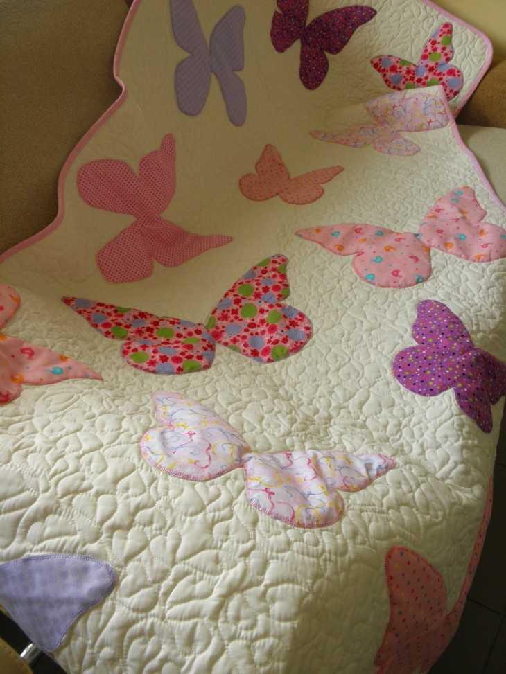 Детское одеяло своими руками сшить для девочки 71