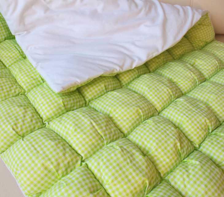 Пышные одеяла своими руками