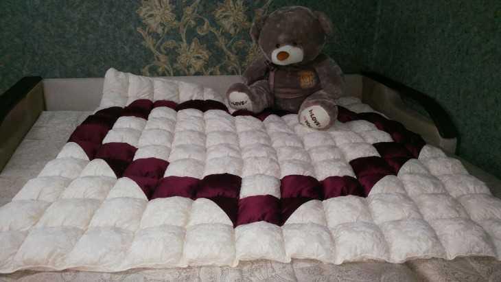 Одеяло из синтепона своими руками фото 14