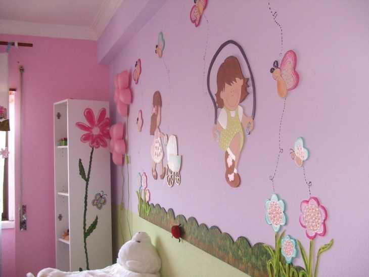 Как обновить детскую комнату своими руками