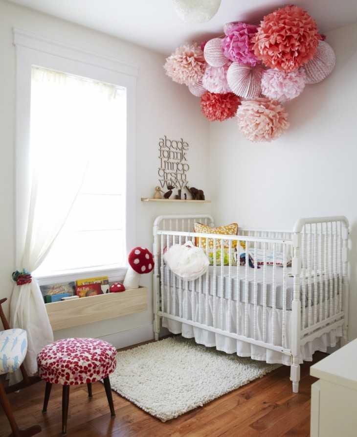 Как украсить комнату новорожденного своими руками 459