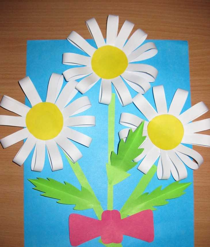 Открытки из цветной бумаги
