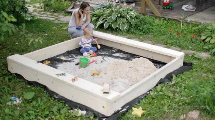 Детские песочницы своими руками фото 26