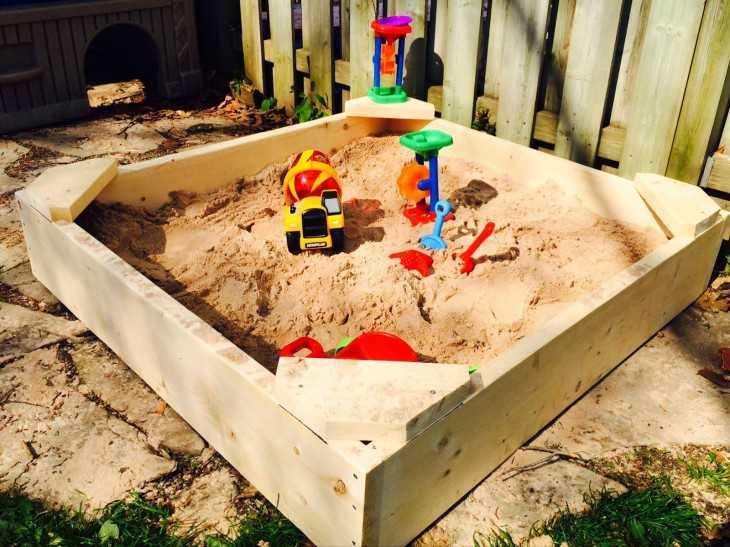 Переносная песочница своими руками 82