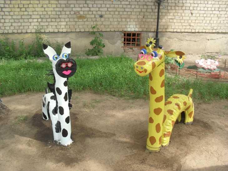Детская площадка для сада своими руками из подручных материалов