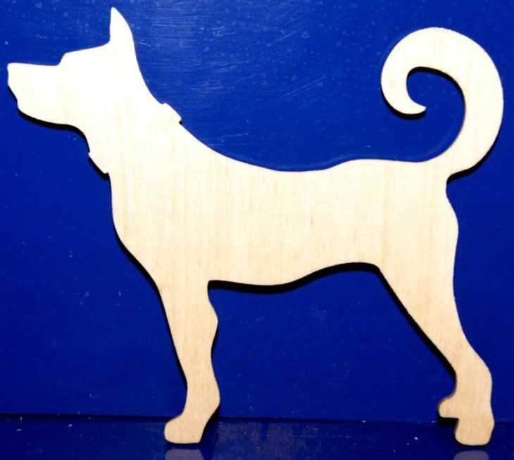 Собака из фанеры своими руками 934