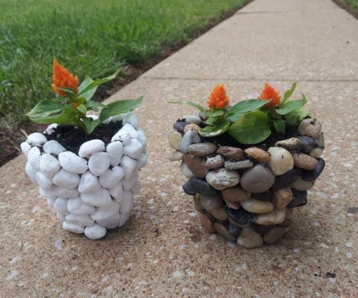 Как делать поделки из камней своими руками