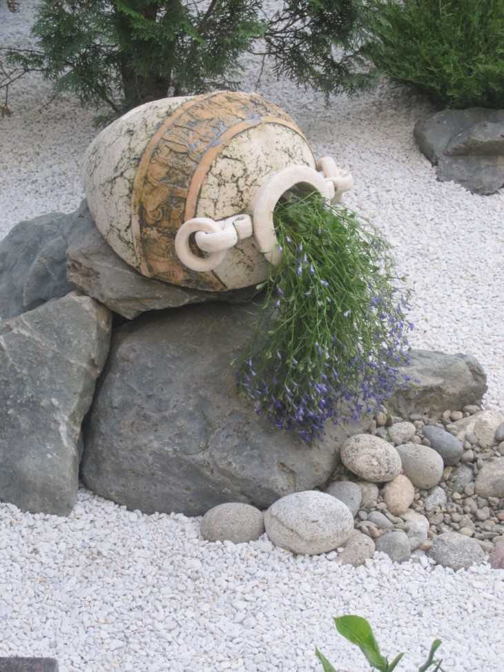 Декор своими руками из морских камней