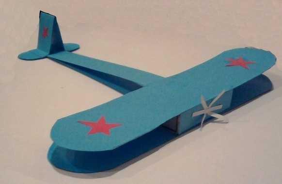 Военный самолет своими руками из бумаги