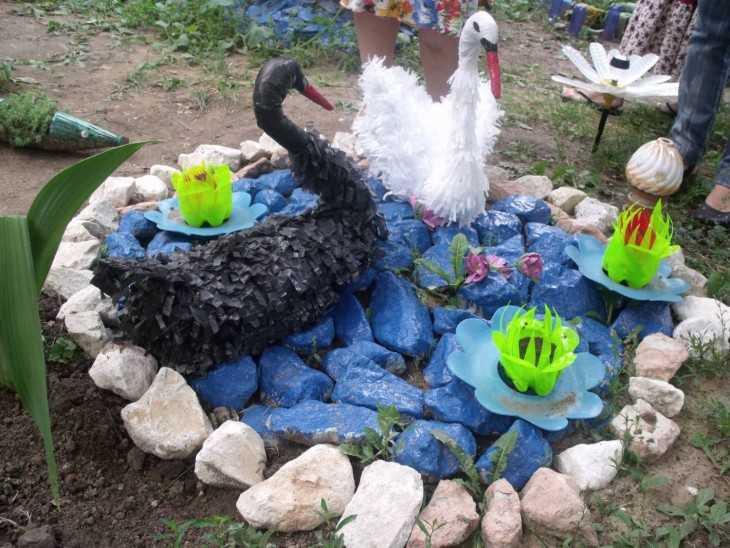 Поделки для двора своими руками декор из подручных материалов 91