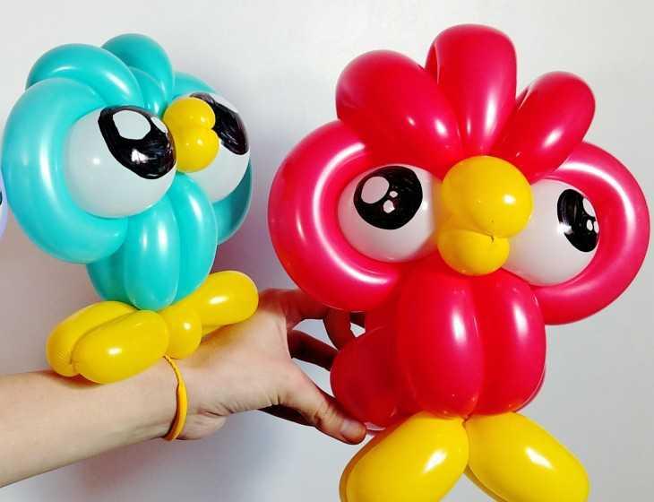 Фигурки из шариков своими руками фото 495