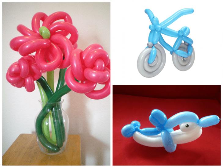 Как сделать фигуры из шаров. Фото пошагово с описанием 98
