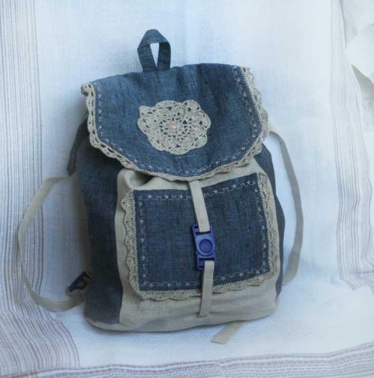 Как сшить рюкзак без швейной машинки