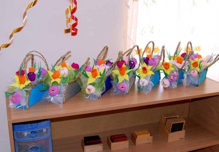 Поделки своими руками для детского сада к 8 марта