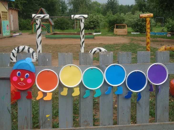 Поделки для уличных площадок в детском саду