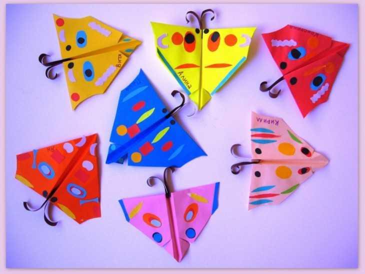 Поделки оригами тема лето