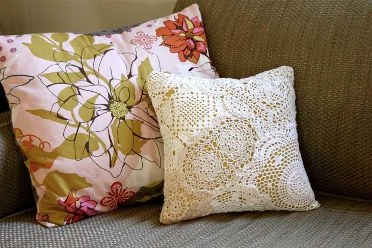 Оригинальные подушки своим руками 48