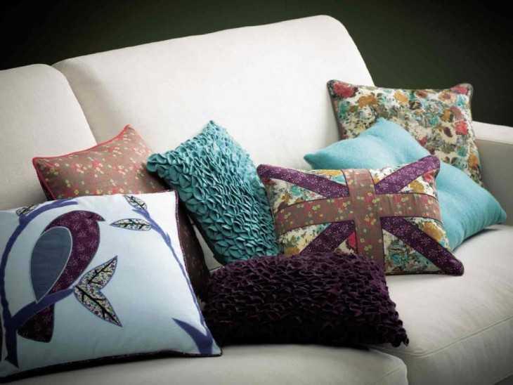 Оригинальные подушки своим руками 41